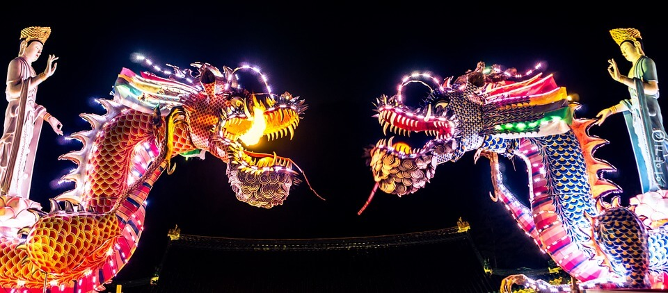 chinese new year 2019 dragons
